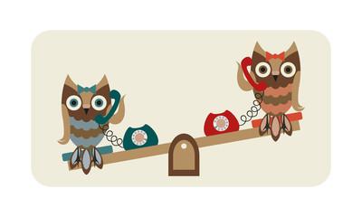 talkative owls