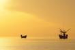 The coast fishery boat