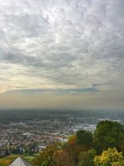 Stadtansicht Heilbronn vom Wartberg aus