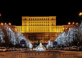 Palace of Parliament - Bucharest, Romania