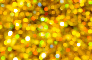 Abstract defocused bokeh lights background