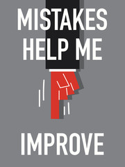 Words MISTAKES HELP ME IMPROVE