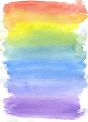 Multicolor Watercolor Paint