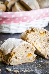 Bread. Sweet and spicy bread