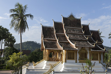 royal palace in luhang prabang