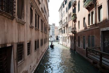 Gondolole in Venezia