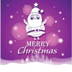 Merry Christmas with Santa