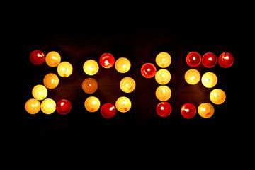 candles burning 2015