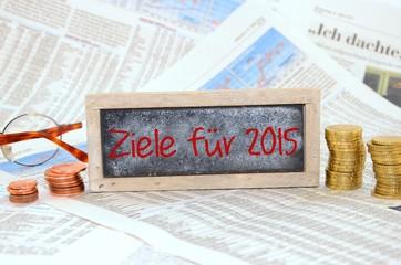 Ziel für 2015