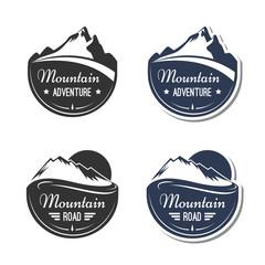 Mountain design elements