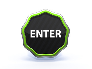enter star icon on white background