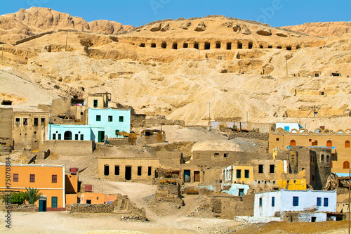 Egypt, Nile Valley, Luxor area, Thebes - 75070884