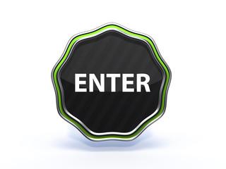 enter star icon on white background