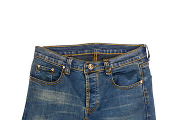 Blue jean isolated
