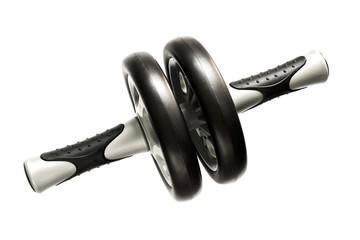 Gymnastic wheel for abdominal exercise
