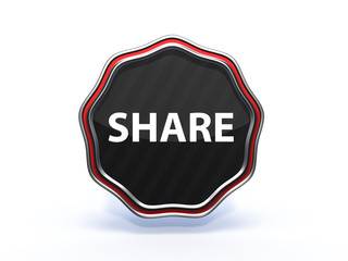 share star icon on white background