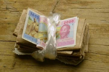 Paquet d'argent Bondeltjie geld