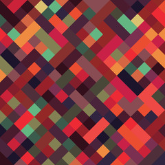 A retro geometric style vector background