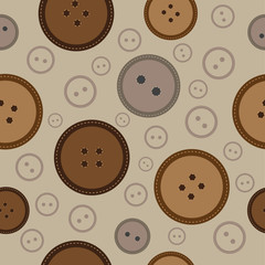 seamless buttons pattern 2