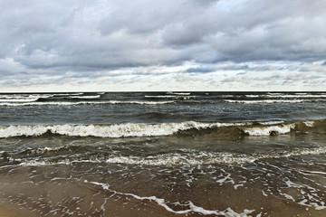 Moody Baltic sea.
