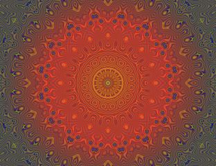 Beautiful meditation mandala