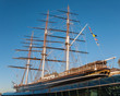 View of the Cutty Sark in London - 75078638
