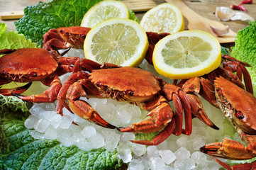 raw velvet crabs