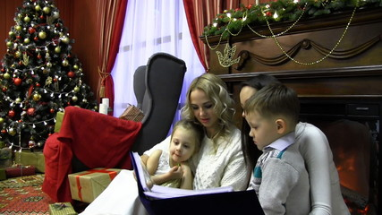 See photos from the family Christmas tree