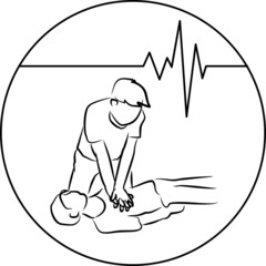 cpr and heartbeat