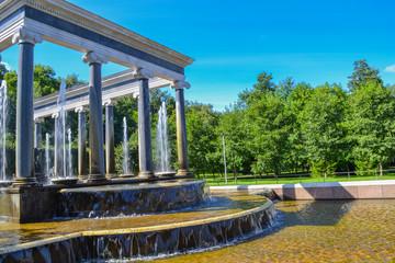 Fountain Lion Cascade in Peterhof