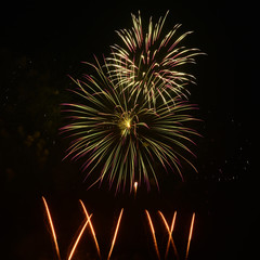 Magnificent fireworks