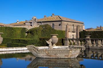 Villa Lante della Rovere - fontana dei 4 mori