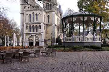 münsterplatz mit musikpavillon