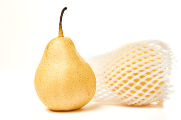 Two pears isolated