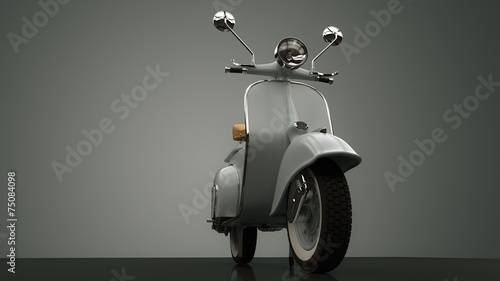 Click For Wallpaper Mural Price · Scooter