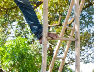 Foot ladder