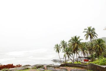 Beautiful Anjuna Sea beach