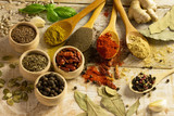 Fototapeta spices