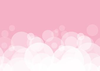 Fondo rosa senza sfumatura  bolle modulare