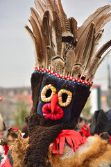 Romanian traditional pagan mask