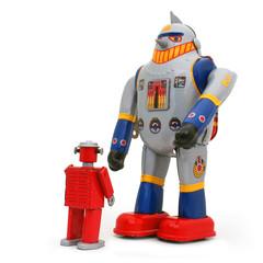 2 robots qui s'opposent