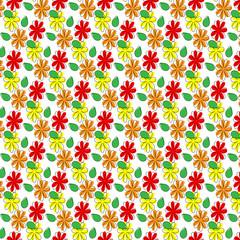 Паттерн цветы