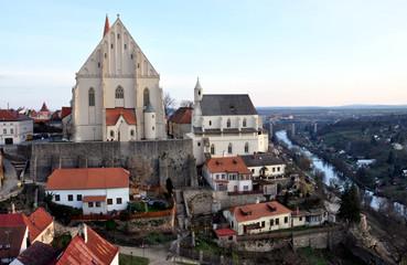 view of the city Znojmo, Czech Republic, Europe