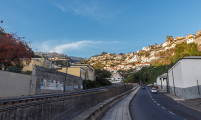 View of Funchal. Madeira island, Portugal