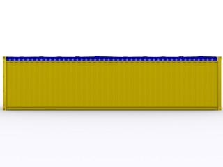 Seitenansicht Open Top Container