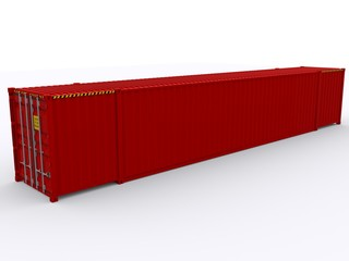 Roter 53ft Container