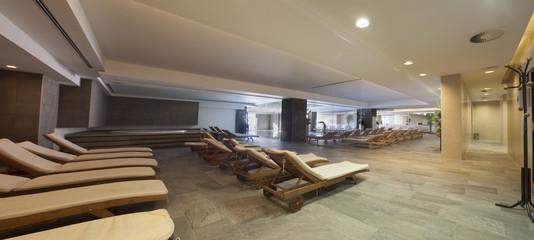 pool spa hotel interior