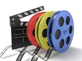 Fototapeta movie color
