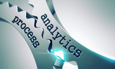 Analytics Process Concept on the Gears.