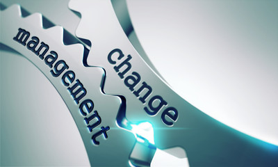 Change Management Concept on the Gears.